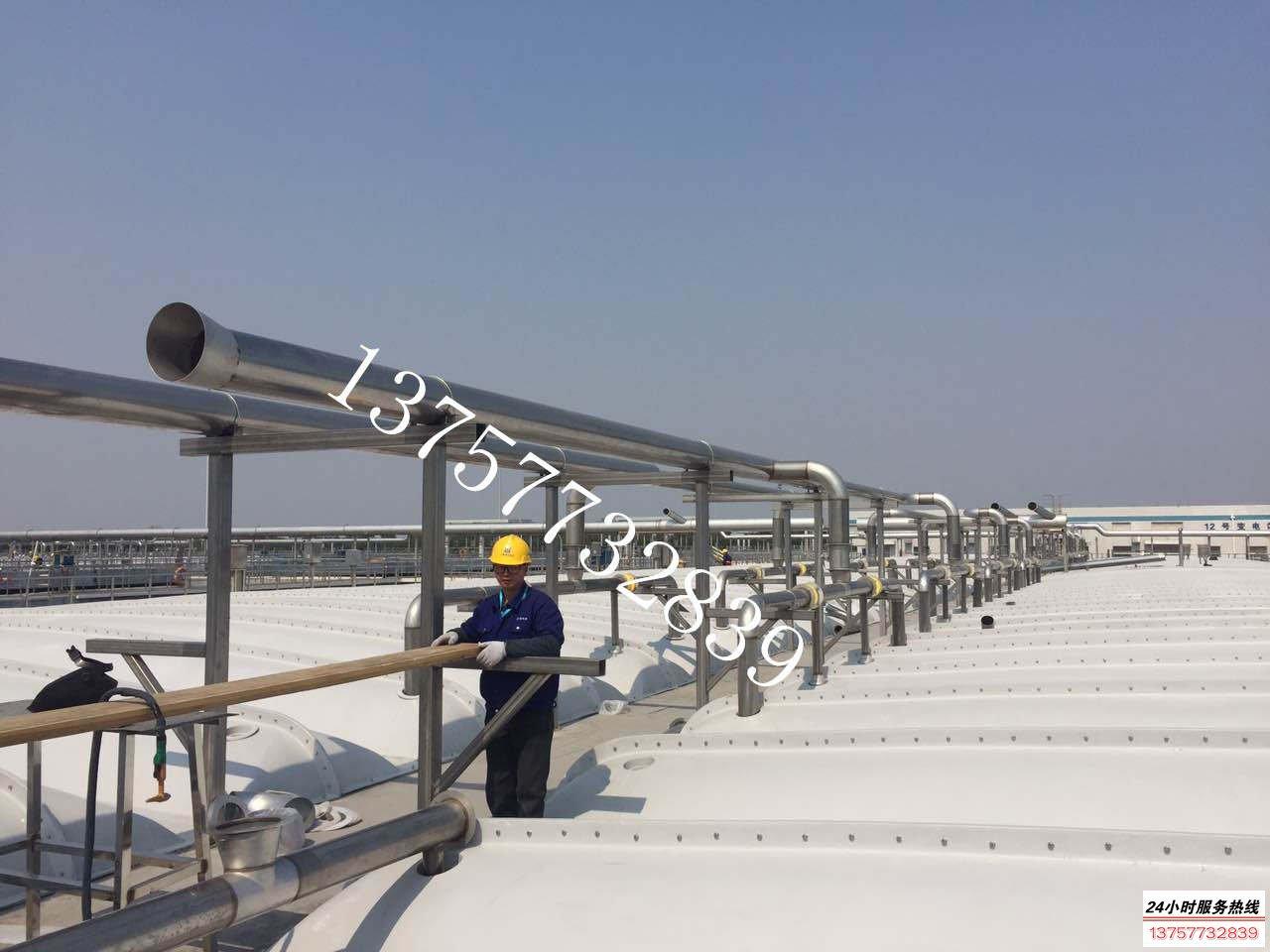 不锈钢薄壁焊管-上海污水处理厂